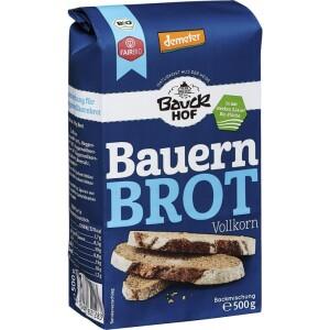 Mix pentru paine taraneasca integrala 500g - Bauck Hof