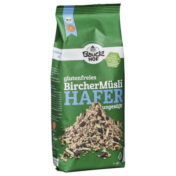 Musli Bircher cu ovaz FARA GLUTEN 450g - Bauck Hof