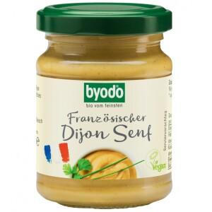 Mustar bio Dijon 125ml - Byodo