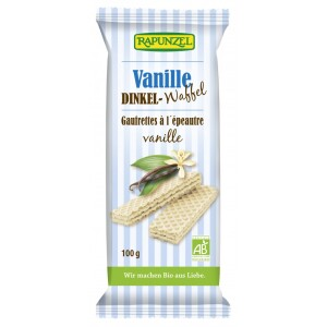 Napolitana bio cu  vanilie 100g - Rapunzel