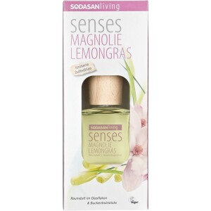 Odorizant bio de camera cu magnolie si lemongras 200ml - Sodasan