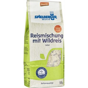 Orez amestec cu orez salbatic Demeter 500g - Spielberger