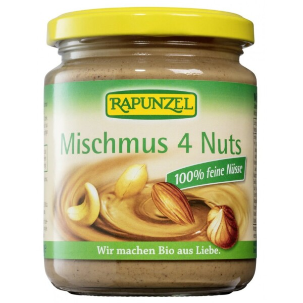 Pasta bio amestec 4 feluri de nuca 250g - Rapunzel