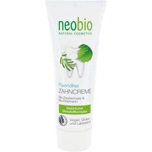 Pasta de dinti fara flour ecologica 75ml - NeoBio