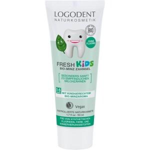 Pasta de dinti gel cu menta pentru copii 50ml - Logodent