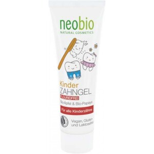 Pasta de dinti gel pentru copii 50ml - NeoBio