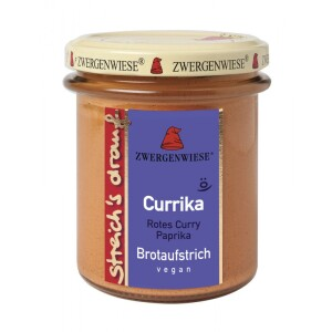 Pasta tartinabila cu ardei si curry 160g - Zwergenwiese