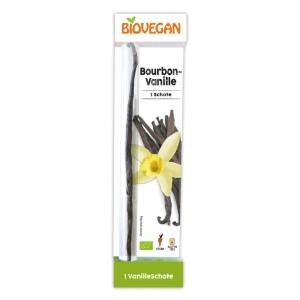 Pastaie Vanilie Bourbon ecologica 1buc - Biovegan