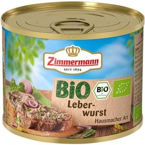Pate de ficat bio 200g - Zimmermann