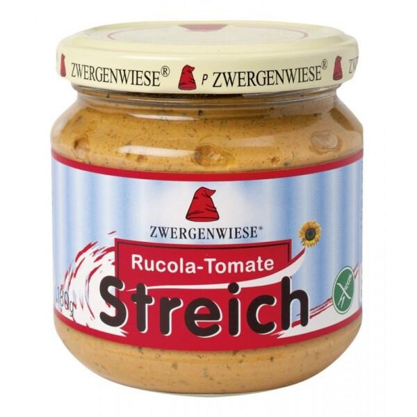 Pate vegetal cu rucola si tomate FARA GLUTEN 180g - Zwergenwiese