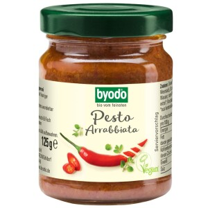 Pesto bio Arrabbiata 125g - Byodo