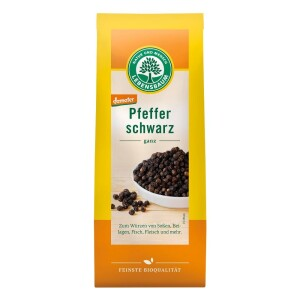Piper negru boabe eco 50g - Lebensbaum