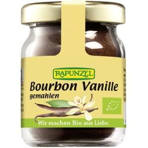 Pudra de Bourbon vanilie bio macinata NOP 15g - Rapunzel