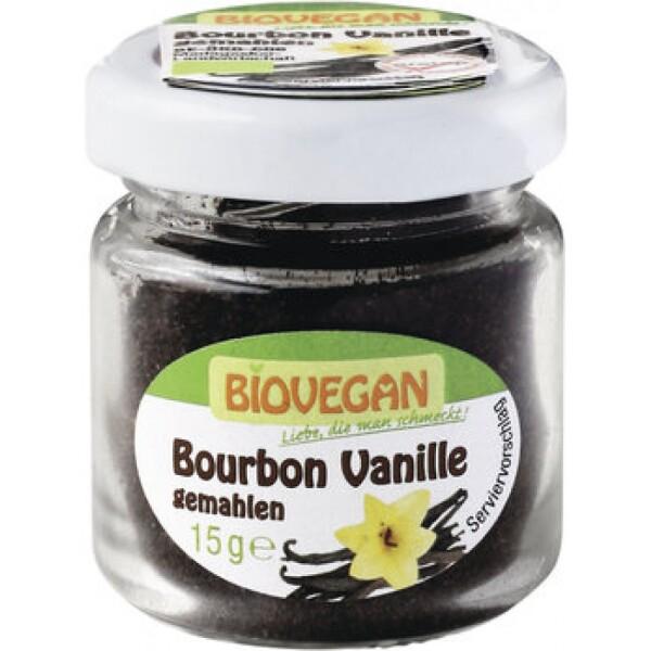 Pudra de Bourbon vanilie ecologica 15g - Biovegan