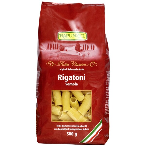 Rigatoni semola bio 500g - Rapunzel