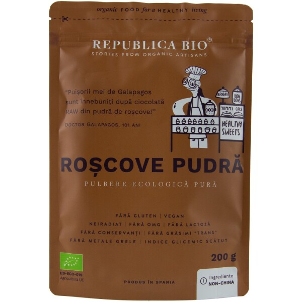 Roscove pudra 200g - Republica bio