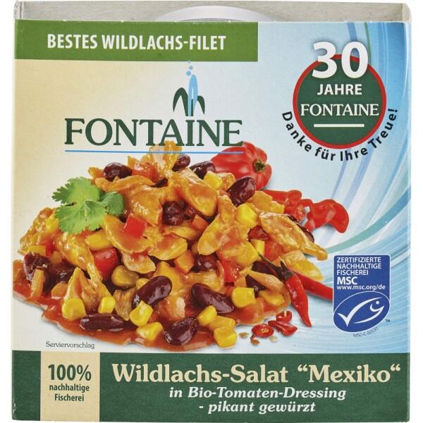 Salata de somon salbatic Mexico 200g - Fontaine