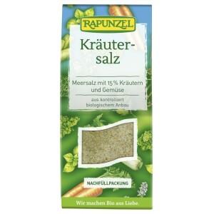 Sare de condimentat cu 15% ierburi si legume 500g 500g - Rapunzel