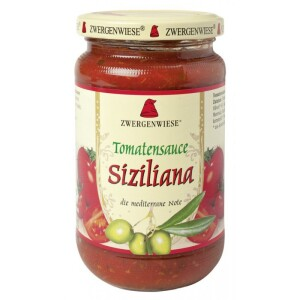 Sos bio de tomate Siziliana 340ml - Zwergenwiese
