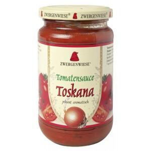 Sos bio de tomate Toskana picant 340ml - Zwergenwiese