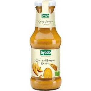 Sos curry cu mango FARA GLUTEN 250ml - Byodo
