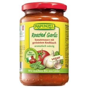 Sos de tomate cu usturoi prajit 350g - Rapunzel