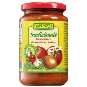 Sos vegan de tomate Traditional 340g - Rapunzel