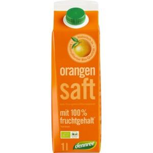 Suc de portocale din concentrat bio 1l - Dennree