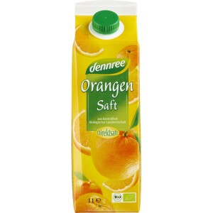 Suc de portocale ecologic 1L 1l - Dennree
