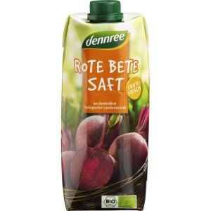 Suc de sfecla rosie bio VEGAN 500ml - Dennree