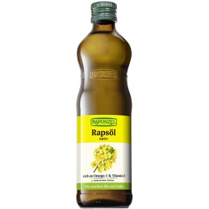 Ulei de rapita bio nativ 500ml - Rapunzel