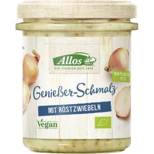 Unsoare vegetala cu ceapa prajita 150g - Allos