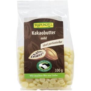 Unt de cacao bio dezodorizat 100g - Rapunzel