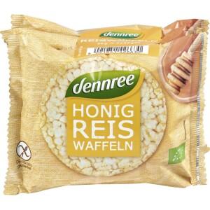 Vafe din orez cu miere FARA GLUTEN 96g - Dennree
