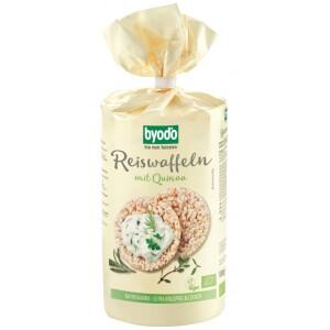Vafe din orez si quinoa FARA GLUTEN 100g - Byodo